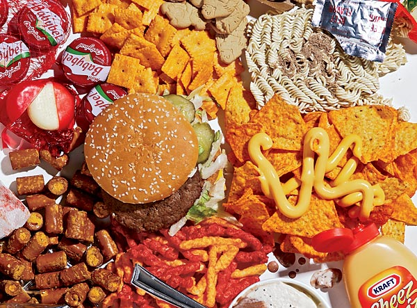 Schools should ban junk food.