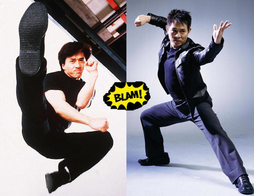 Jet Li vs. Jackie Chan. Who wins (real fight)?